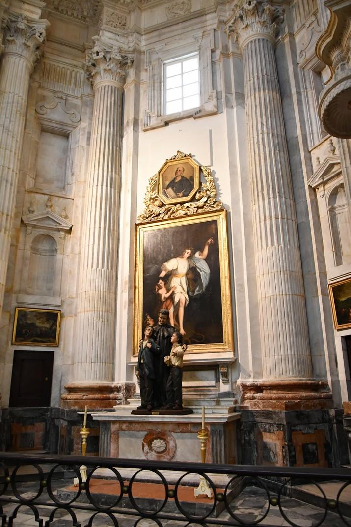 Capella de l'Àngel de la Guarda de la Catedral de la Santa Creu de Cadis