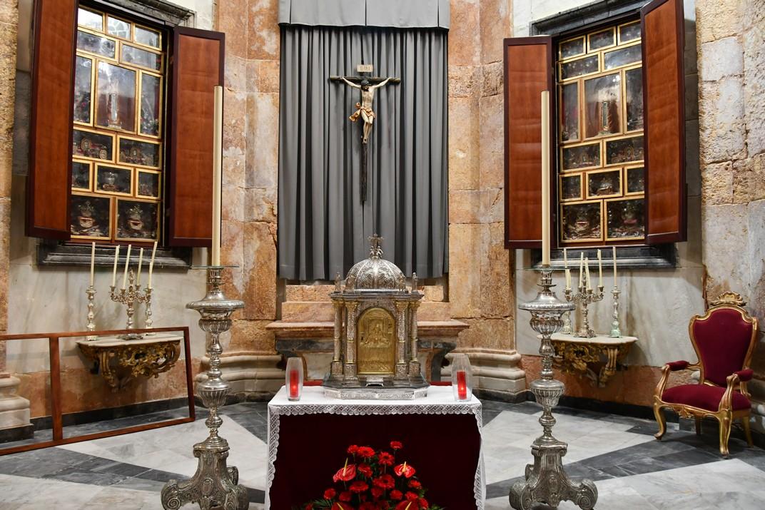 Capella de les relíquies o del Sagrari de la Catedral de la Santa Creu de Cadis