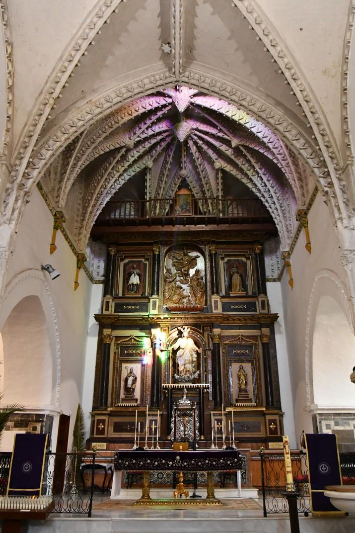 Capella major de l'església del Diví Salvador de Vejer de la Frontera