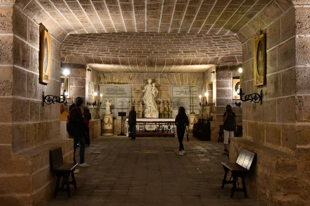 Cripta de la Catedral de la Santa Creu de Cadis