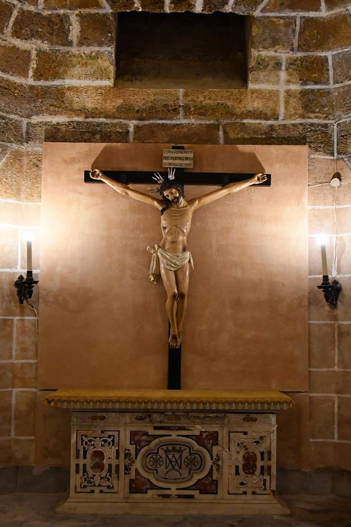 Crist de les Aigües de la Cripta de la Catedral de la Santa Creu de Cadis