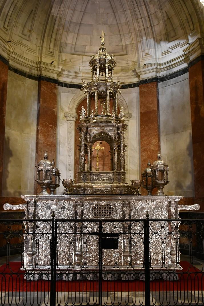 Custòdia del Corpus Christi de la Catedral de la Santa Creu de Cadis