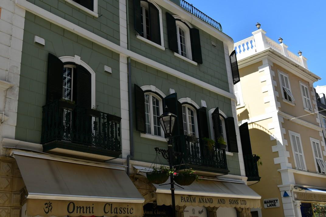 Edificis residencials de Gibraltar