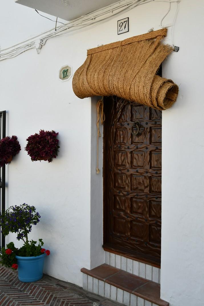 Entrada d'artesania de Mijas