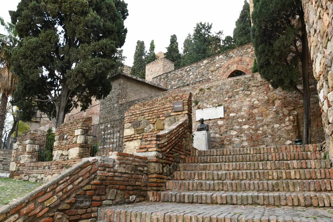 Entrada de l'Alcassaba de Màlaga