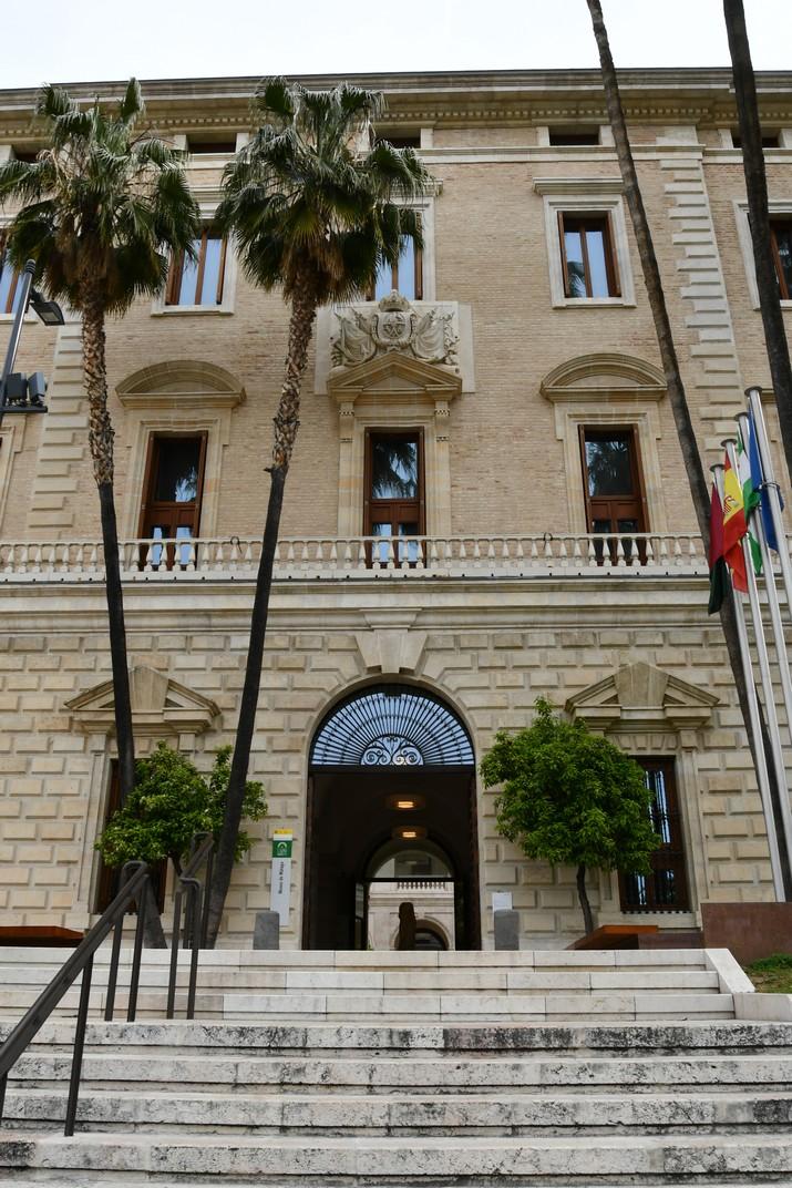 Entrada del Museu de Màlaga
