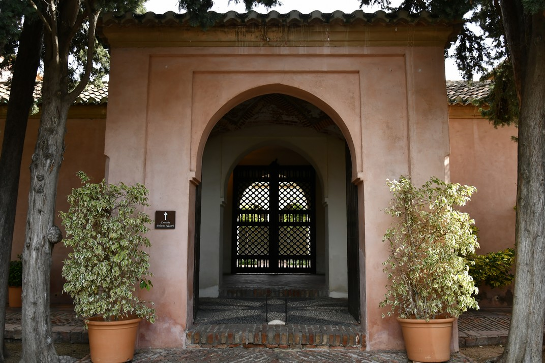 Entrada del Palau Nassarita de l'Alcassaba de Màlaga