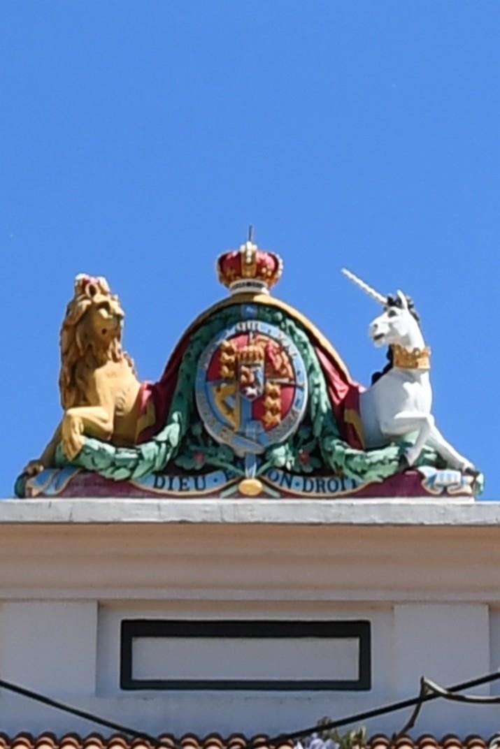 Escut Reial del Palau de Justícia de Gibraltar