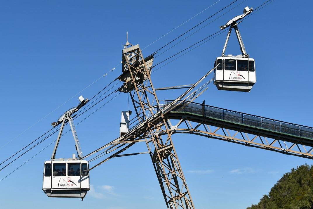 Estació intermèdia del Cable Car de Gibraltar