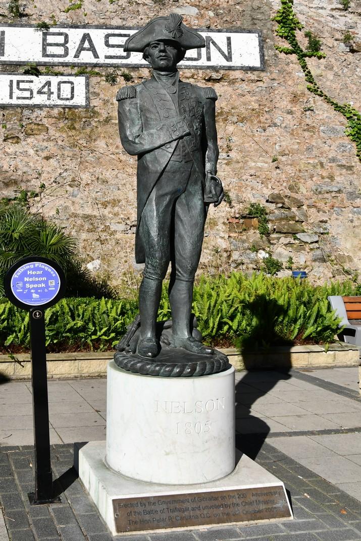 Estàtua de l'almirall Nelson de Gibraltar