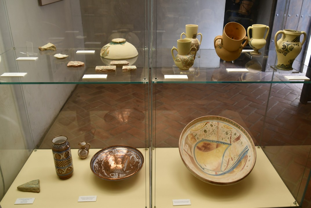 Exposició arqueològica del palau Nassarita de l'Alcassaba de Màlaga