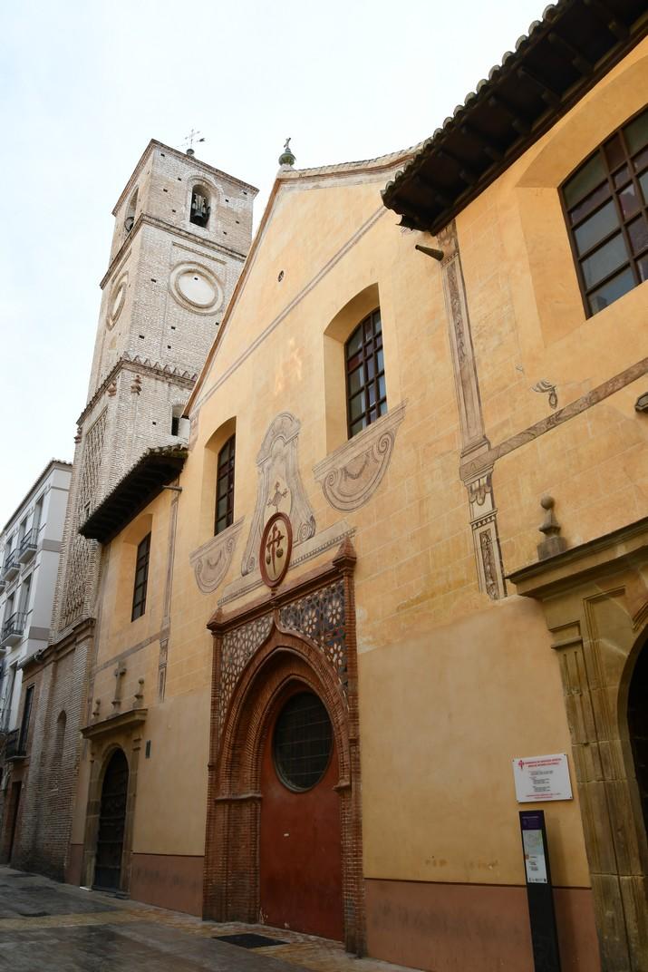 Façana de l'Església Santiago Apòstol de Màlaga