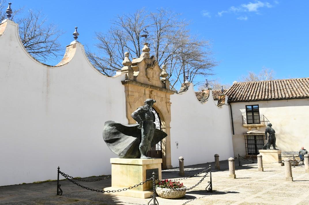Façana exterior de la Plaça de Toros de Ronda