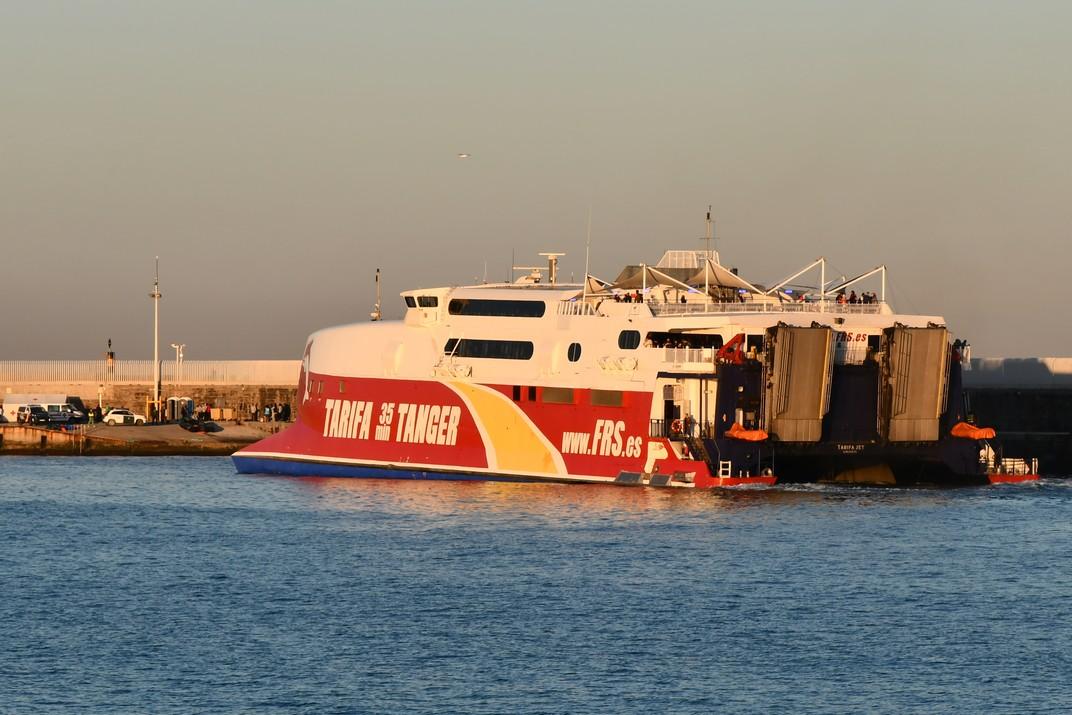 Ferri de l'estret de Gibraltar de Tarifa