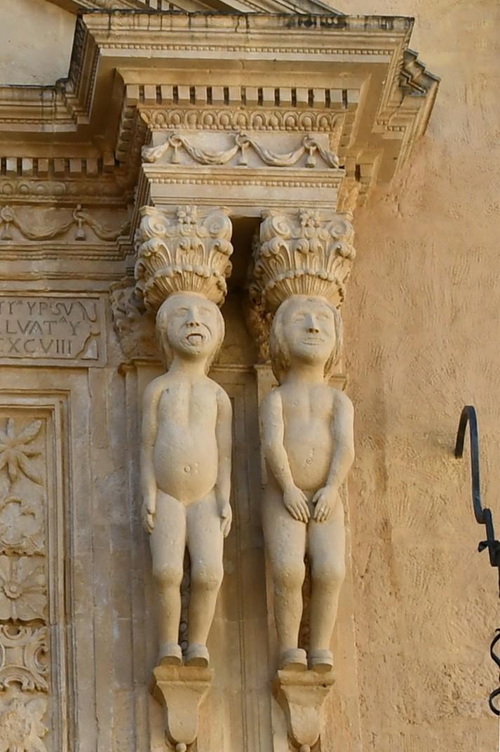 Figures inques del Palau del Marquès de Salvatierra de Ronda