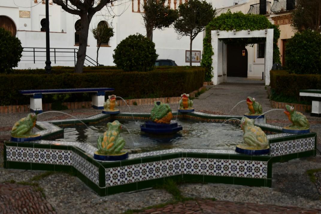 Font de la Ranita de la Plaça de Santa Maria de Tarifa