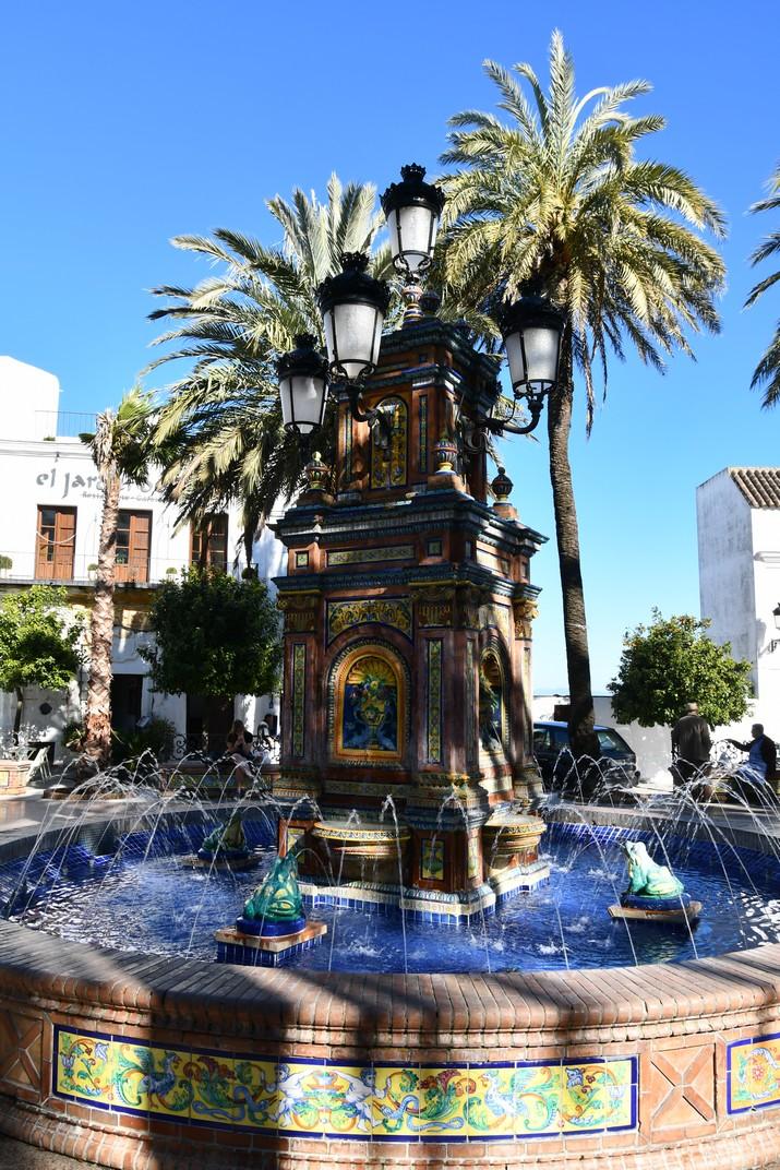 Font dels peixets de la Plaça d'Espanya de Vejer de la Frontera