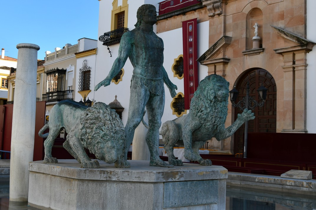 Font d'Hèrcules de la plaça del Socors de Ronda