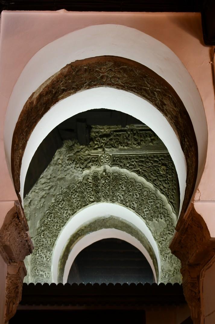 Mihrab de l'antiga mesquita de la Col·legiata de Santa Maria la Major de Ronda