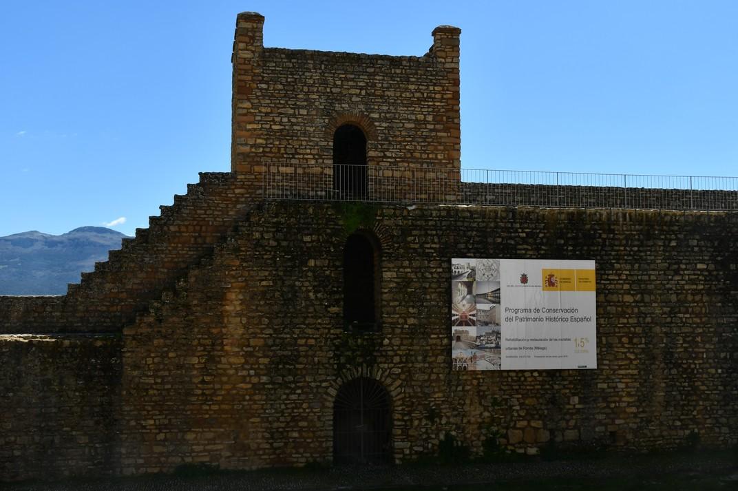 Muralles de la Medina àrab de Ronda