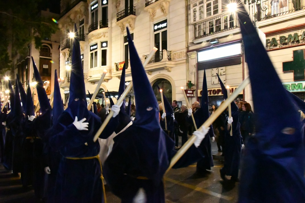 Natzarens de vela de la Setmana Santa de Màlaga