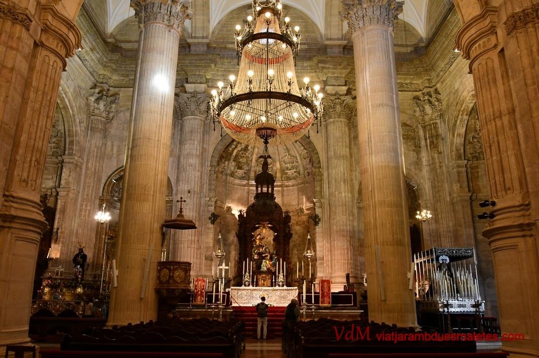 Nau de la Col·legiata de Santa Maria la Major de Ronda