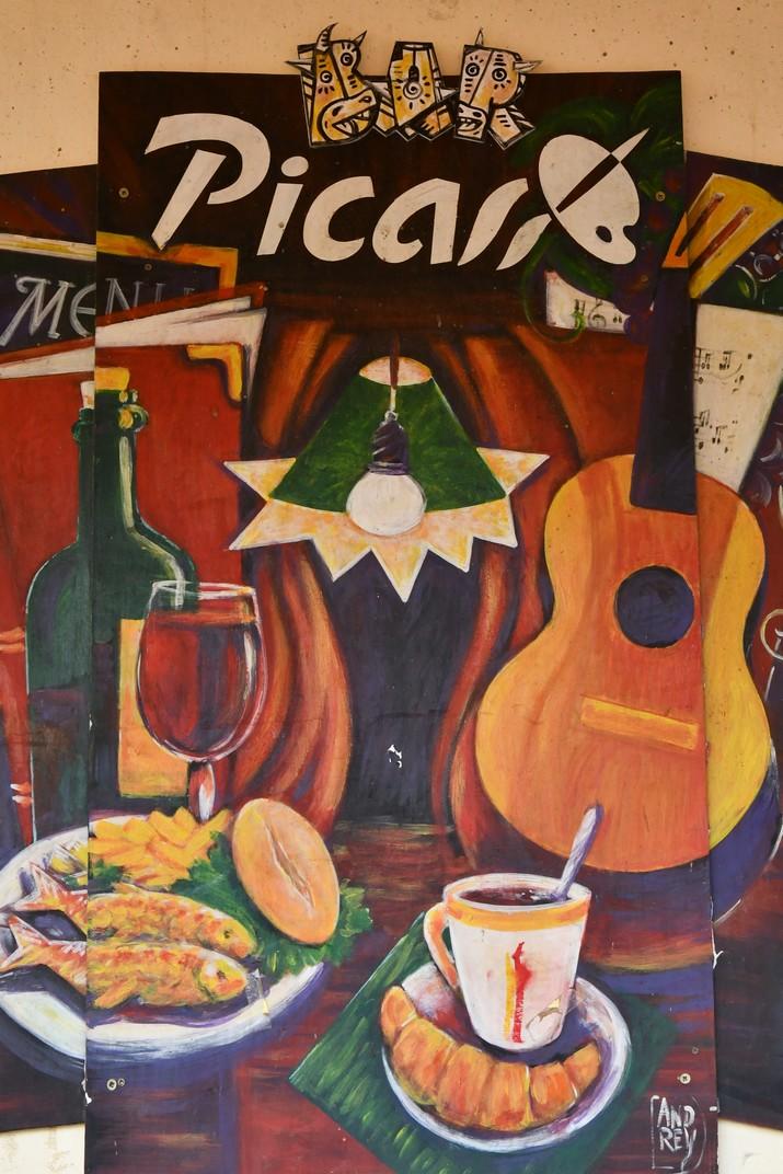 Picasso present a Màlaga