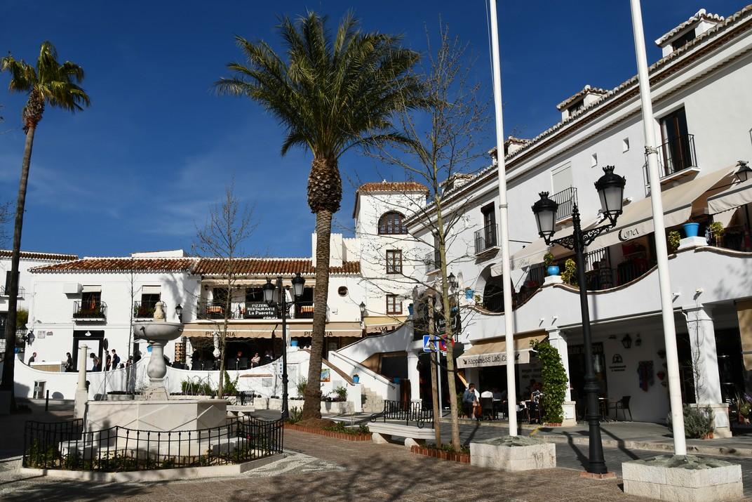 Plaça de la Constitució de Mijas