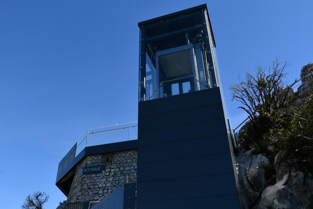 Plataforma de vidre - Skywalk - de Gibraltar