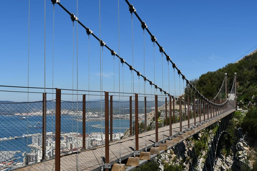 Pont penjant Windsor de Gibraltar