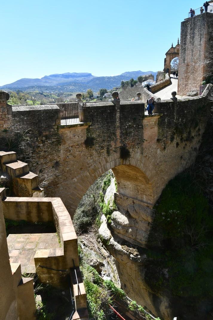 Pont vell del congost del Tajo de Ronda