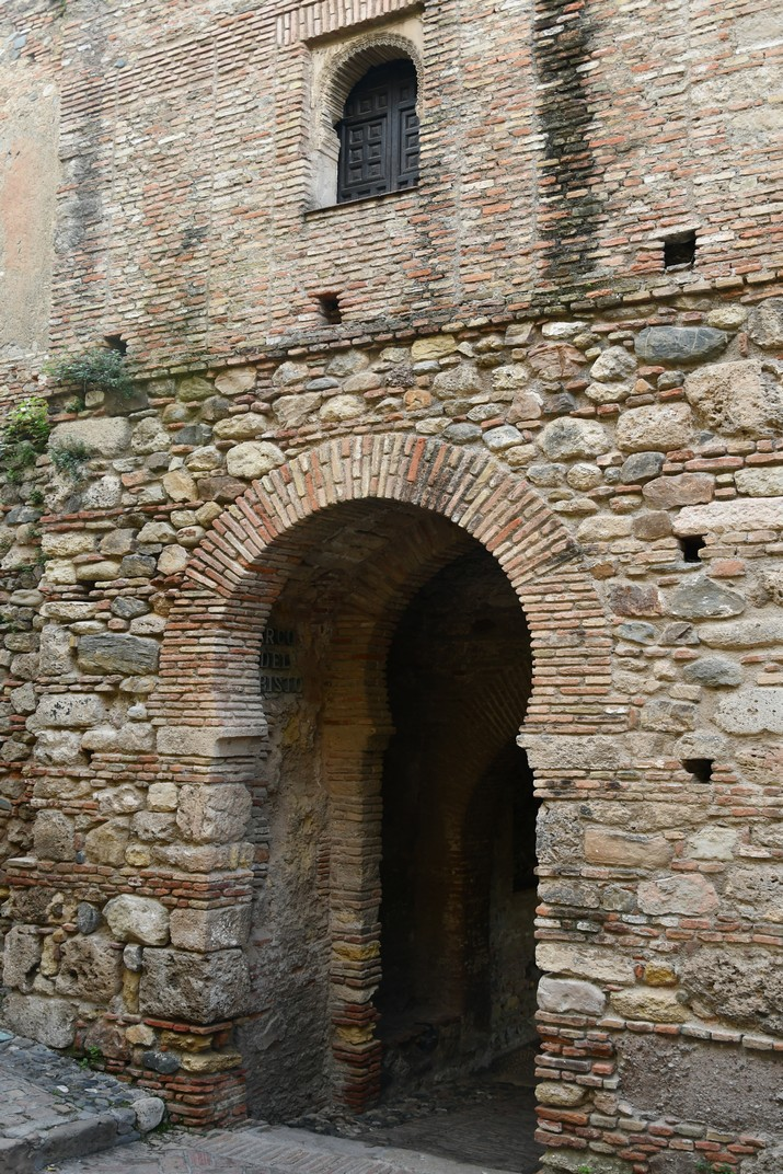 Porta de la torre de Crist de l'Alcassaba de Màlaga