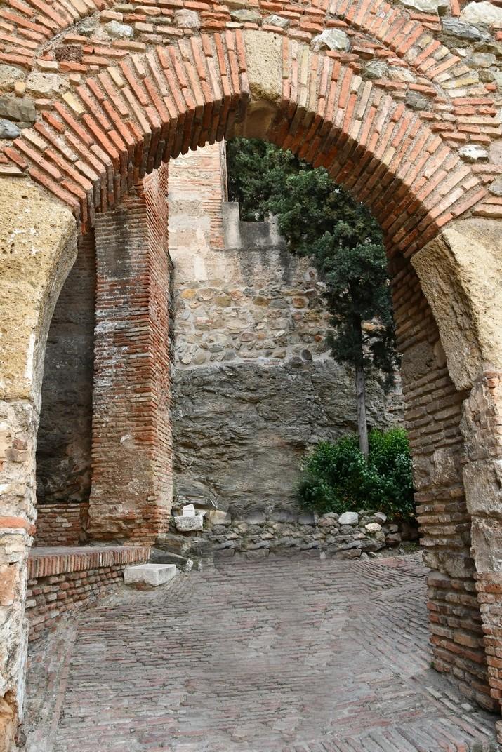 Porta de la Torre de la Volta de l'Alcassaba de Màlaga