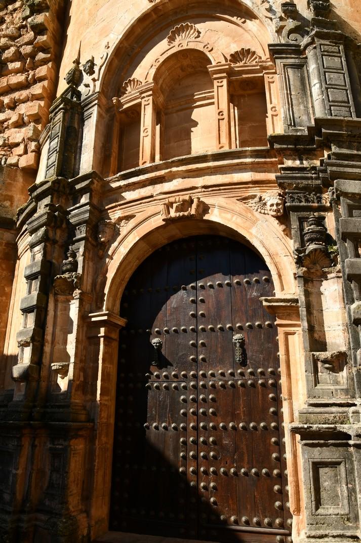 Porta del bisbe de la Col·legiata de Santa Maria la Major de Ronda