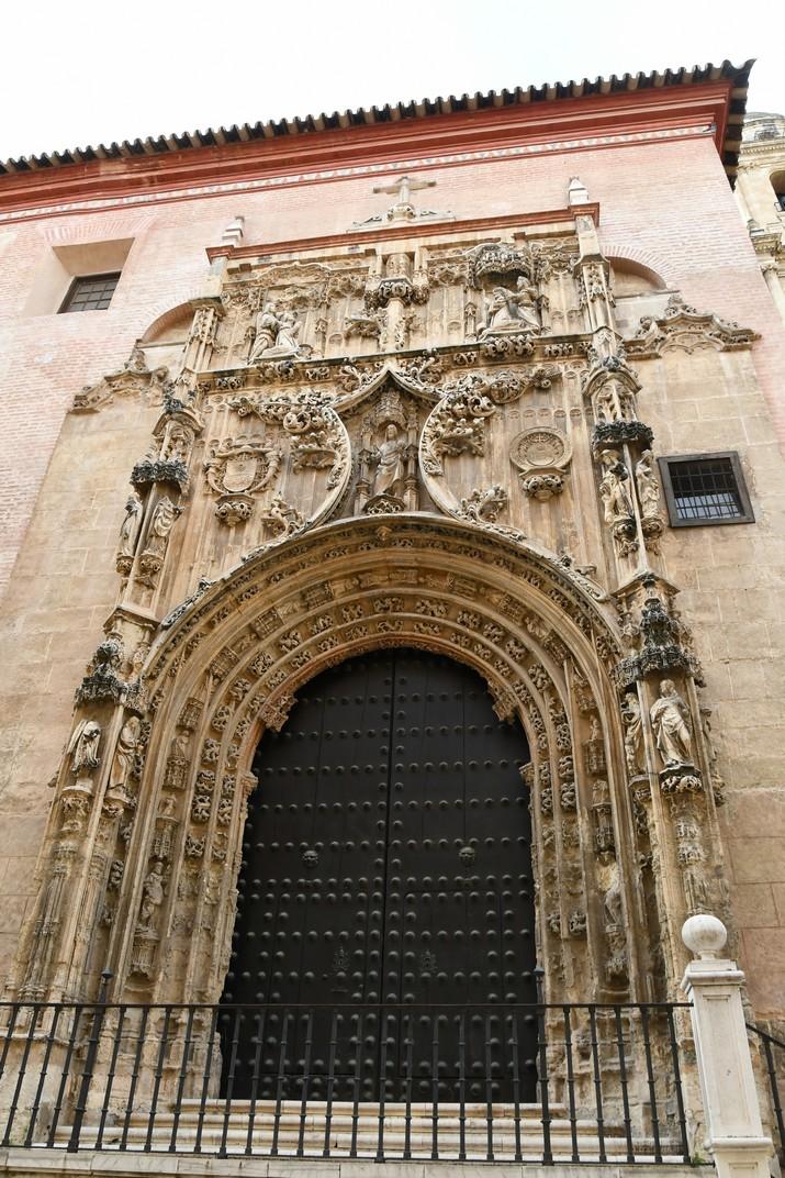 Porta del Perdó de l'Església del Sagrari de Màlaga