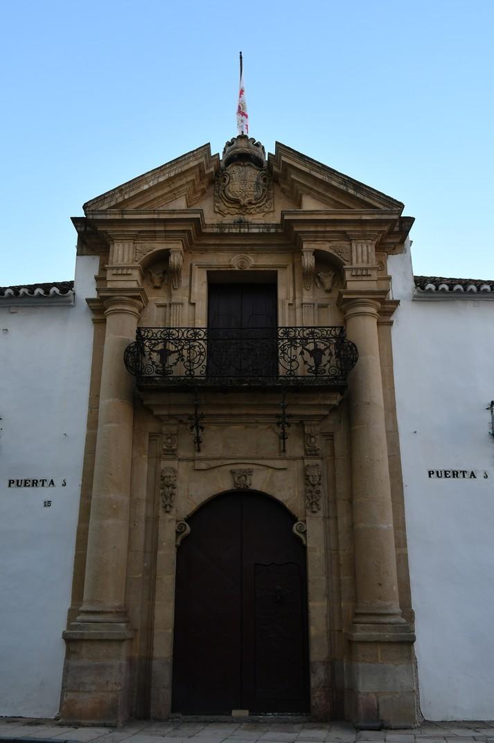 Porta principal de la Plaça de Toros de Ronda