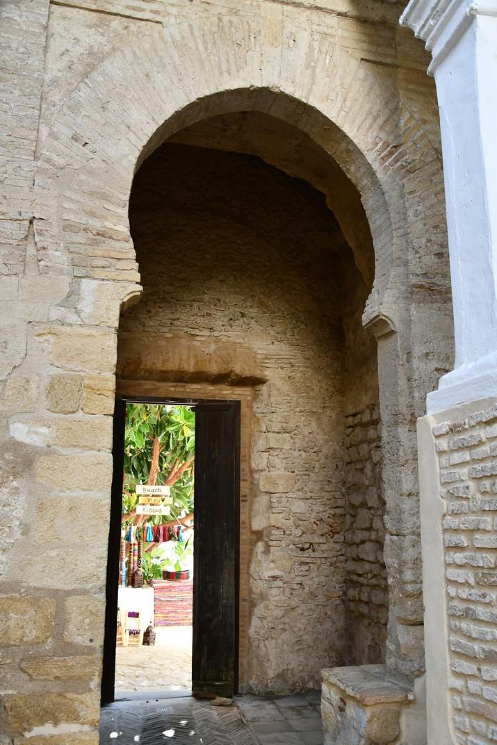 Porta principal del Castell de Vejer de la Frontera