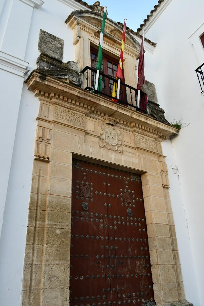 Portada de l'Ajuntament d'Arcos de la Frontera