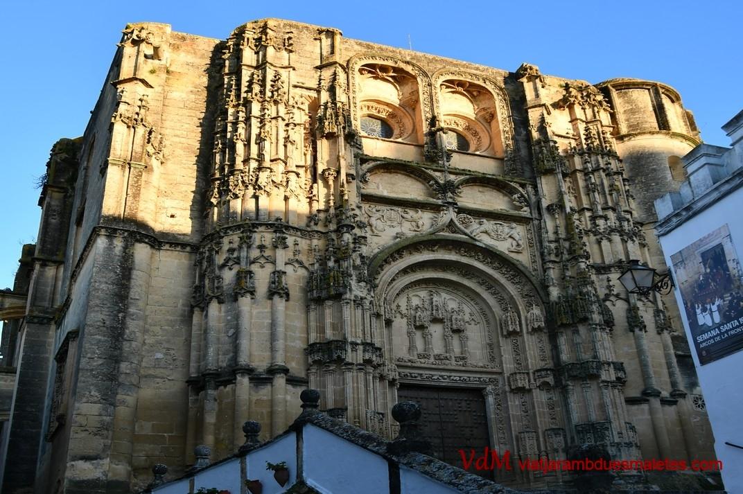 Portada principal de la Basílica de Santa Maria de l'Assumpció d'Arcos de la Frontera