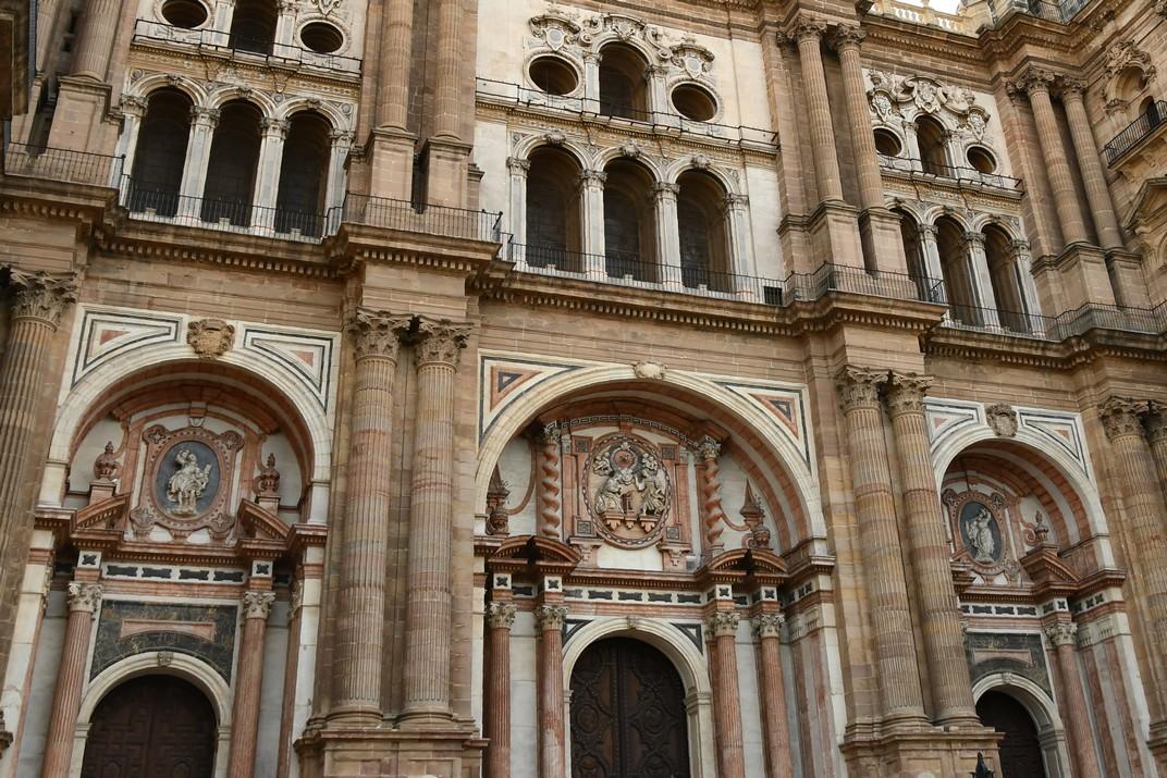 Portada Principal de la Catedral de Màlaga