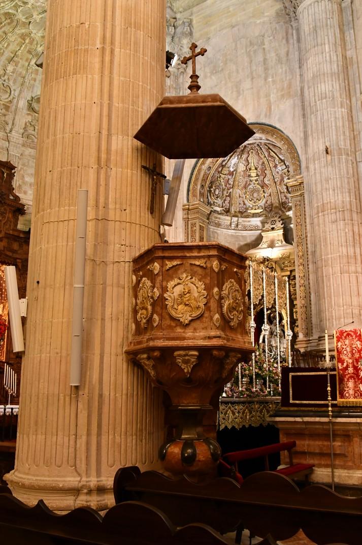Púlpit de la Col·legiata de Santa Maria la Major de Ronda