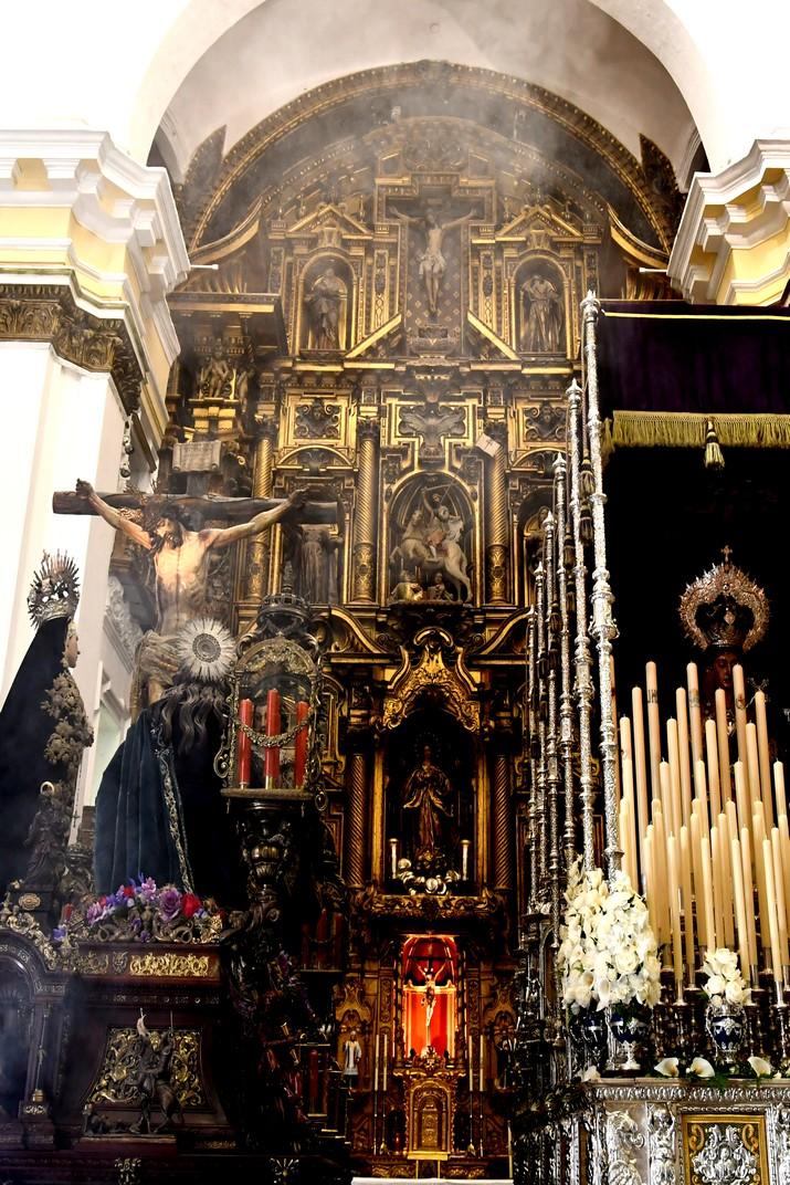 Retaule major de l'església de Santiago Apòstol de Cadis