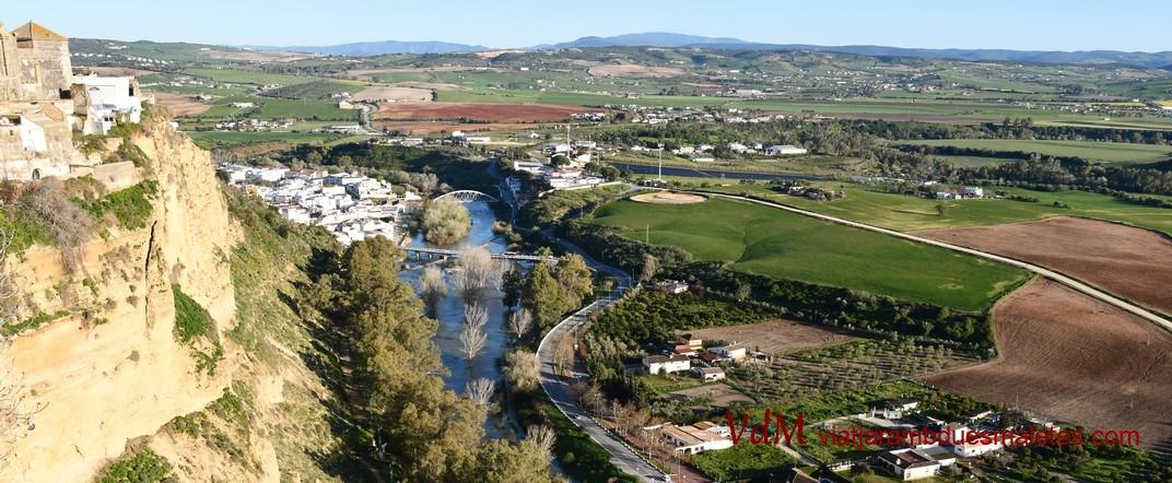 Riu Guadalete d'Arcos de la Frontera