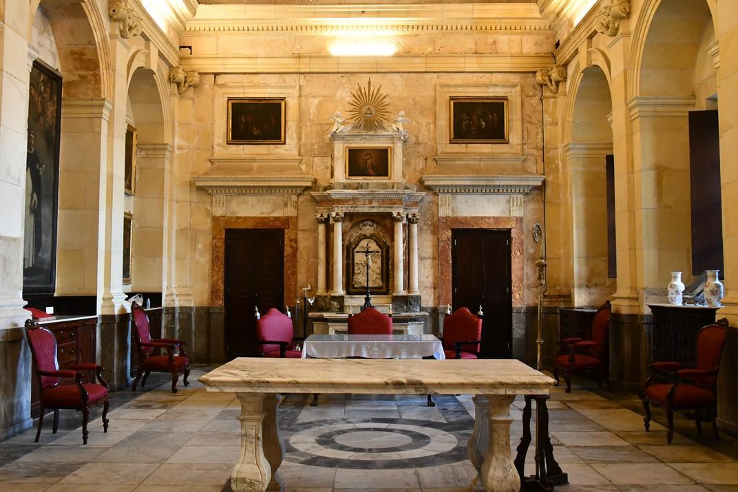 Sagristia de la Catedral de la Santa Creu de Cadis