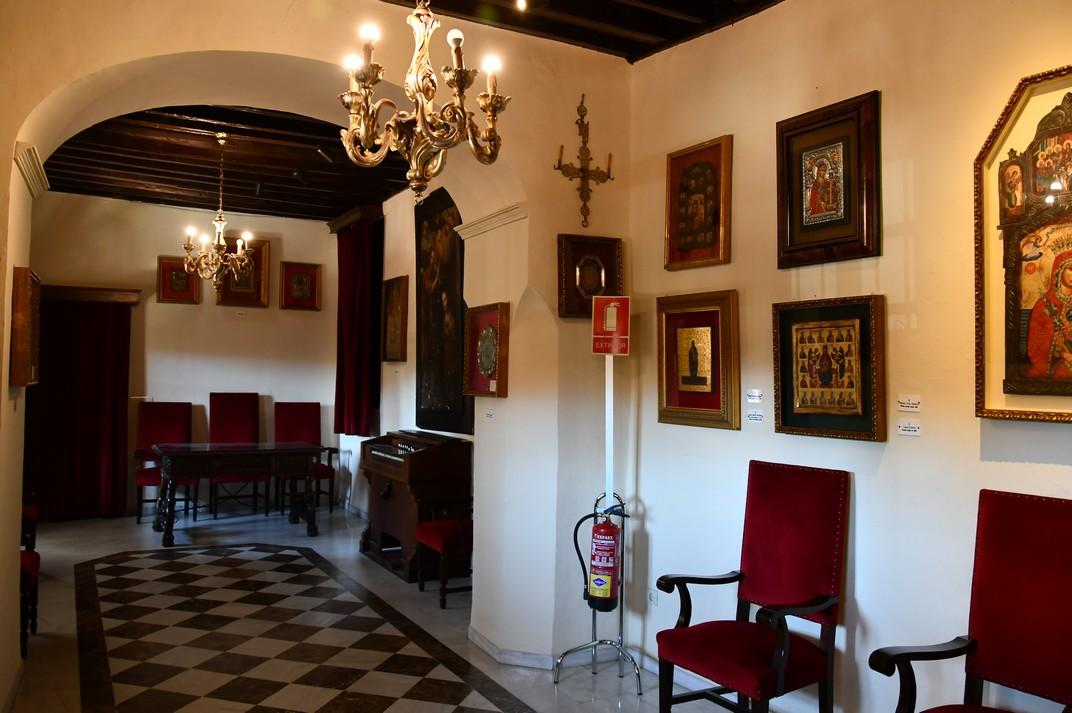 Sala d'icones de la Col·legiata de Santa Maria la Major de Ronda
