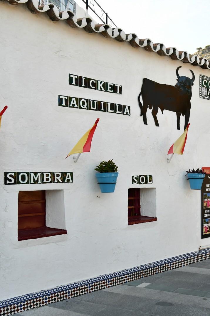 Taquilla plaça de braus de Mijas