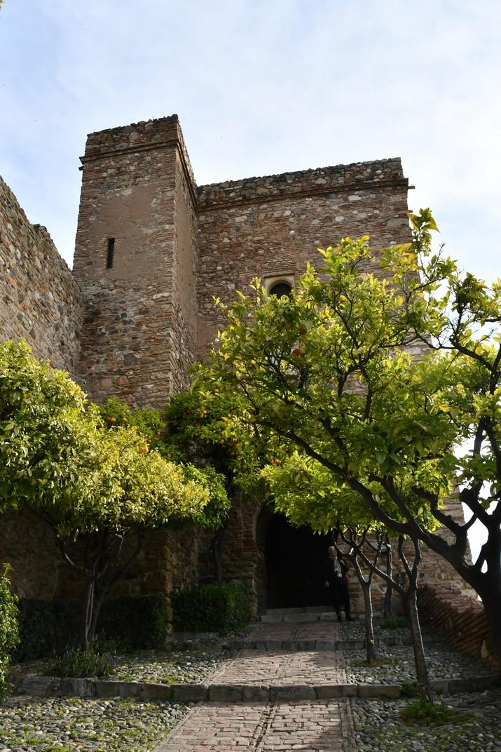 Torre del Crist de l'Alcassaba de Màlaga