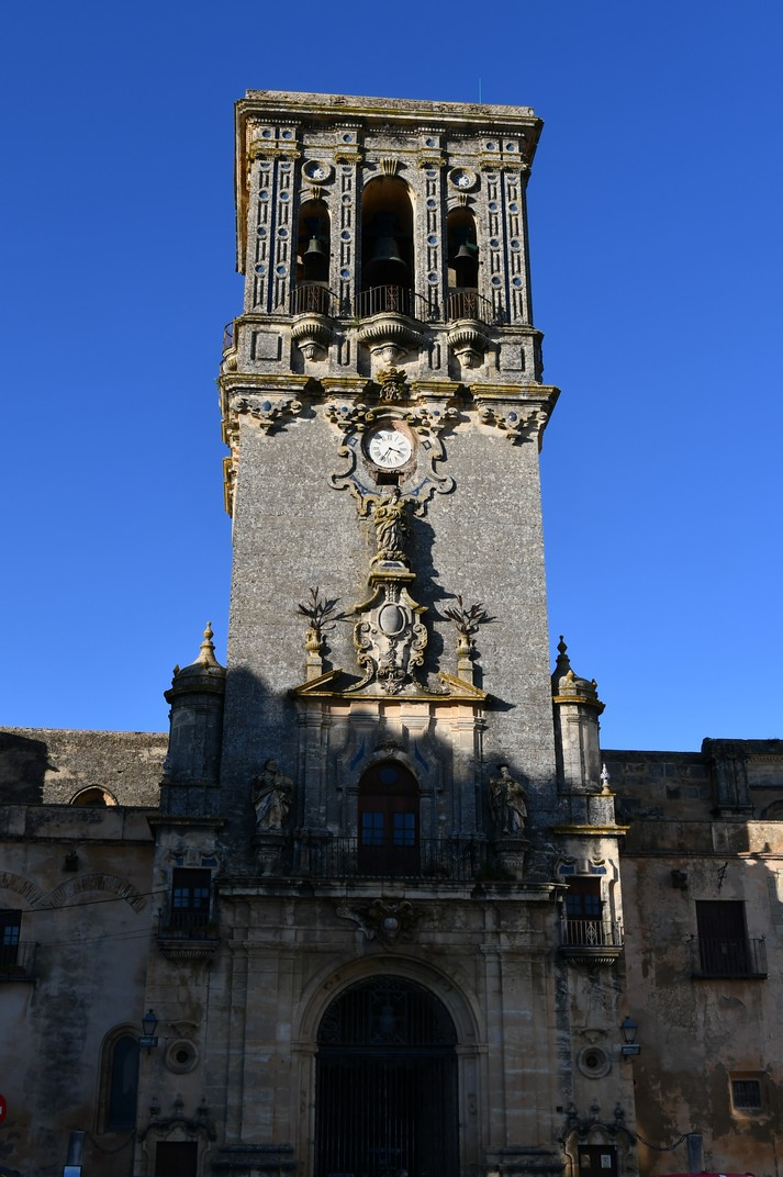 Torre-façana de la Basílica de Santa Maria d'Arcos de la Frontera