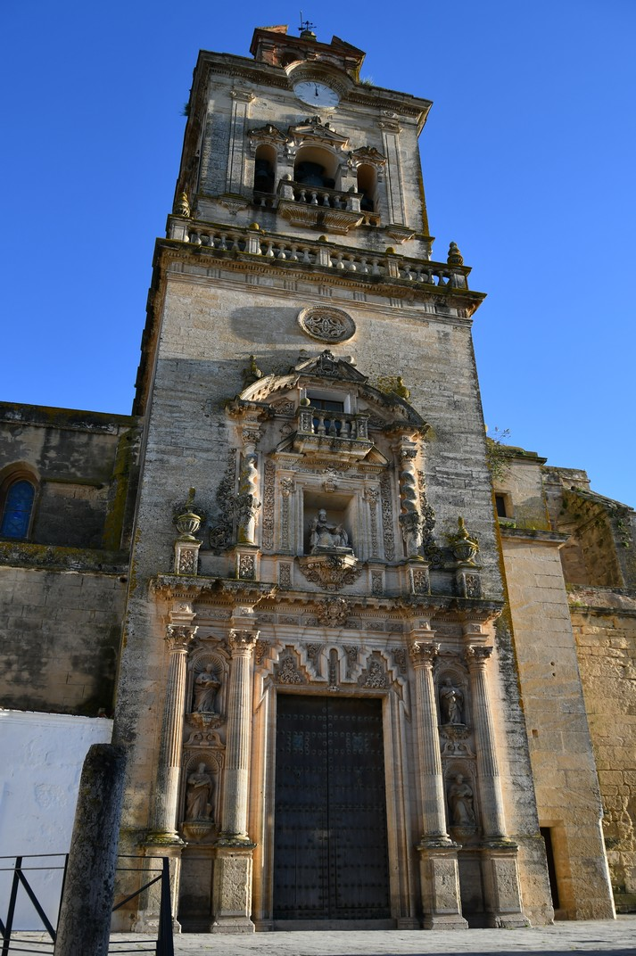 Torre-façana de l'Església de Sant Pere d'Arcos de la Frontera