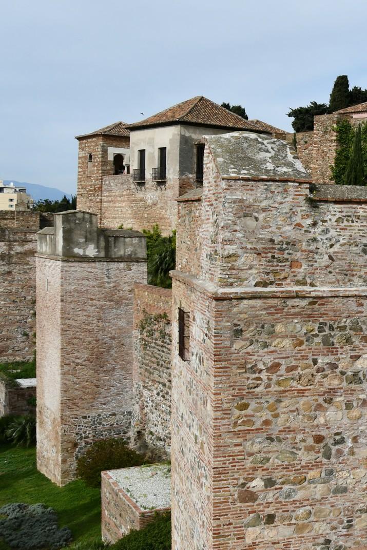 Torres de Maldonado i de l'Armadura Mudèjar de l'Alcassaba de Màlaga